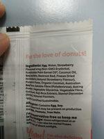 Noshu Sugar Free Donut - Ingredients - en