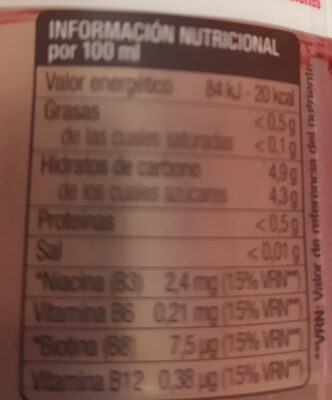 solano de cabras repair - Nutrition facts - es