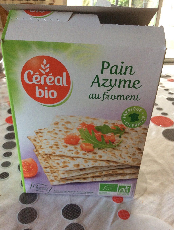 Pain Azyme au froment - Prodotto - fr