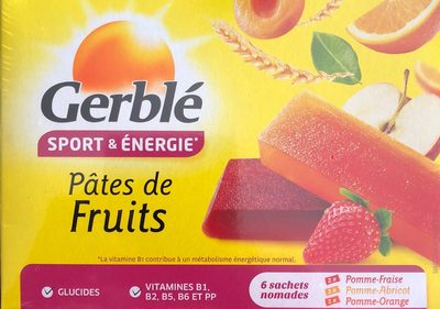 Pâtes de fruits - Product - fr