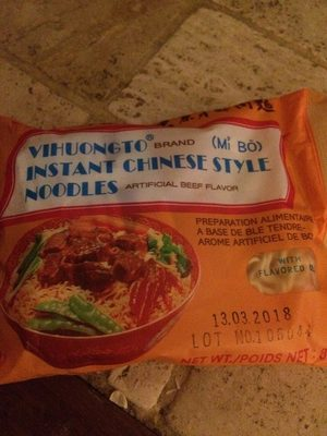 Viho to instant chinese style noodle - Produit - fr