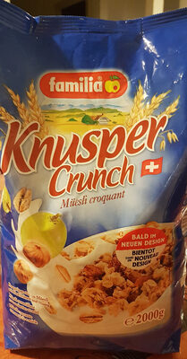 Knusper Crunch Müesli croquant - Produit - fr