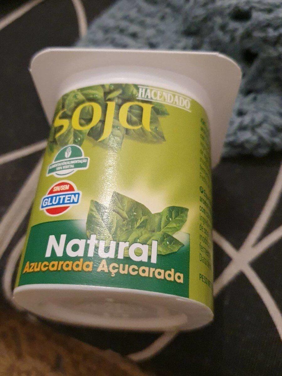 Yogur de soja natural - Prodotto - es