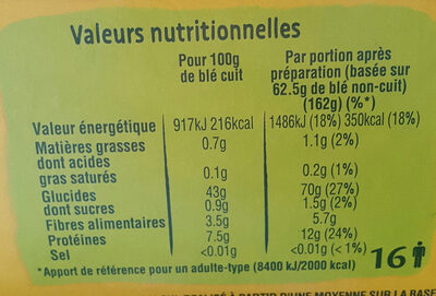 ebly - Informations nutritionnelles - fr