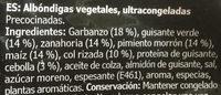 Allemansratten - Ingredientes