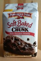 Soft Baked Chocolate Chunk Dark Chocolate Brownie Cookies - Produkt