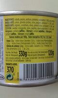 Toreras - Informació nutricional
