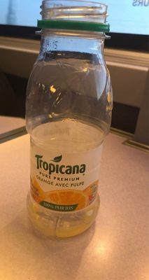 Tropicana orange without pulp - Product