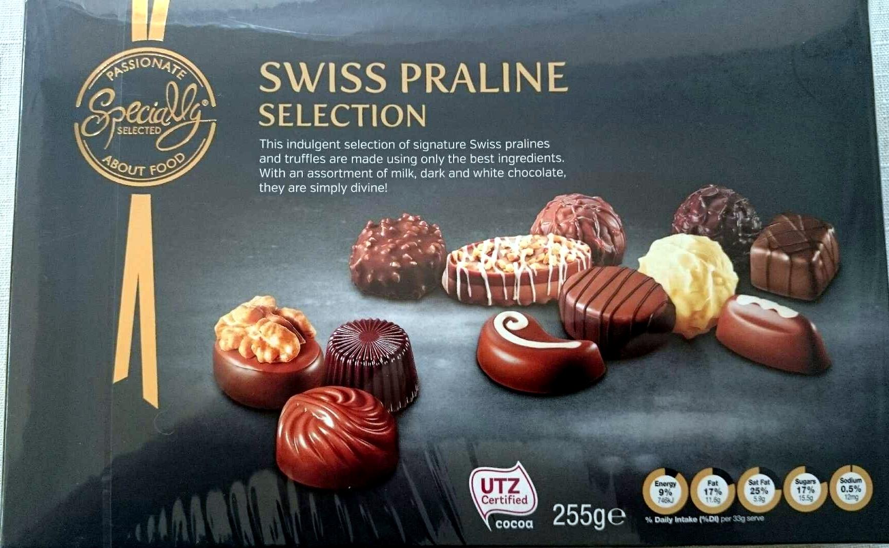 Swiss Praline Selection - Produit - en