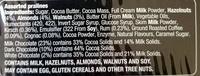 Swiss Praline Selection - Ingredients