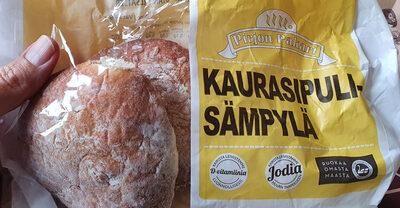 Kaurasipuli-sämpylä - Produit - fi