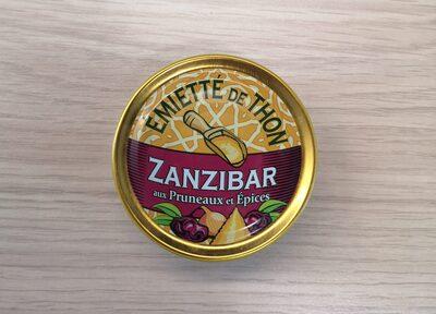 Emietté de thon zanzibar (pruneaux et épices) - Product - fr
