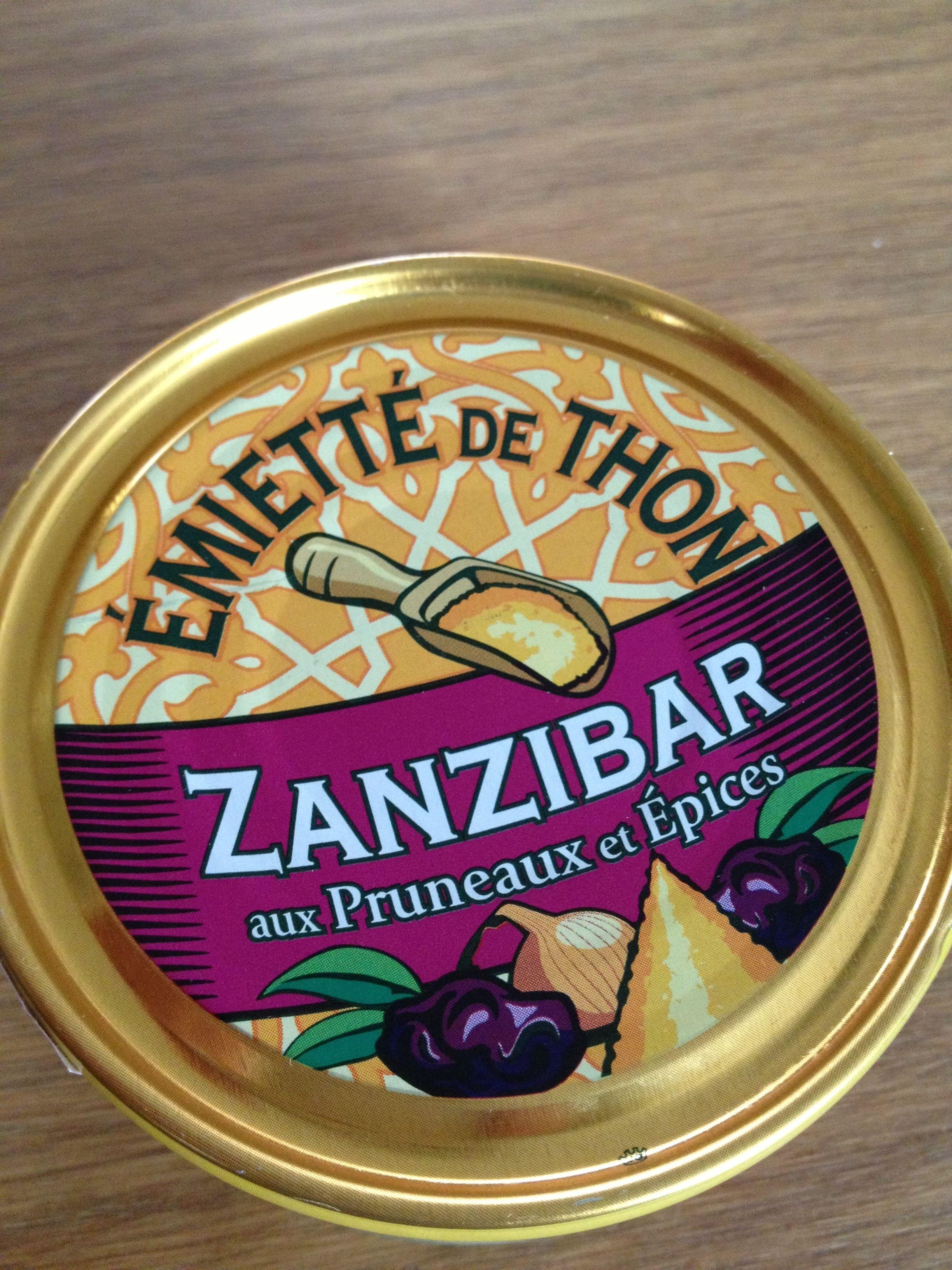 Zanzibar - Émietté de Thon aux Pruneaux et Épices - Product