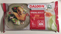 Spring rolls - Product - da