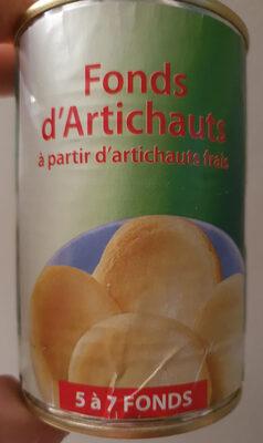 fonds d'artichauts - Produit - fr