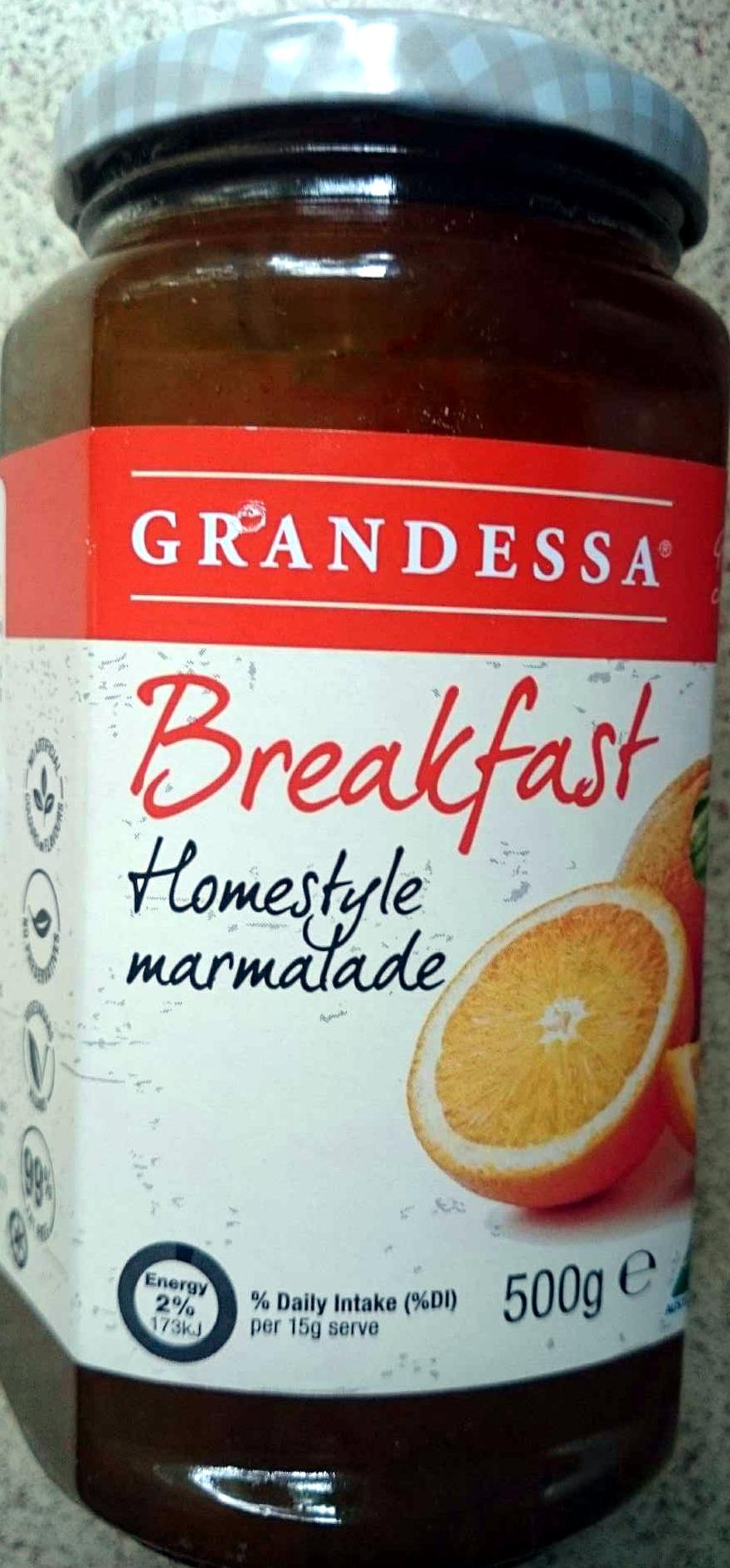 Homestyle Breakfast Marmalade - Product - en