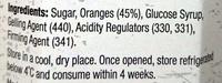 Homestyle Breakfast Marmalade - Ingredients