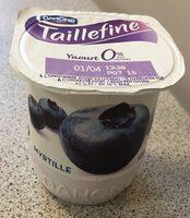 Yaourt 0% myrtille - Prodotto - fr