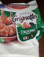 Grignottes à  l'italienne - Prodotto - de