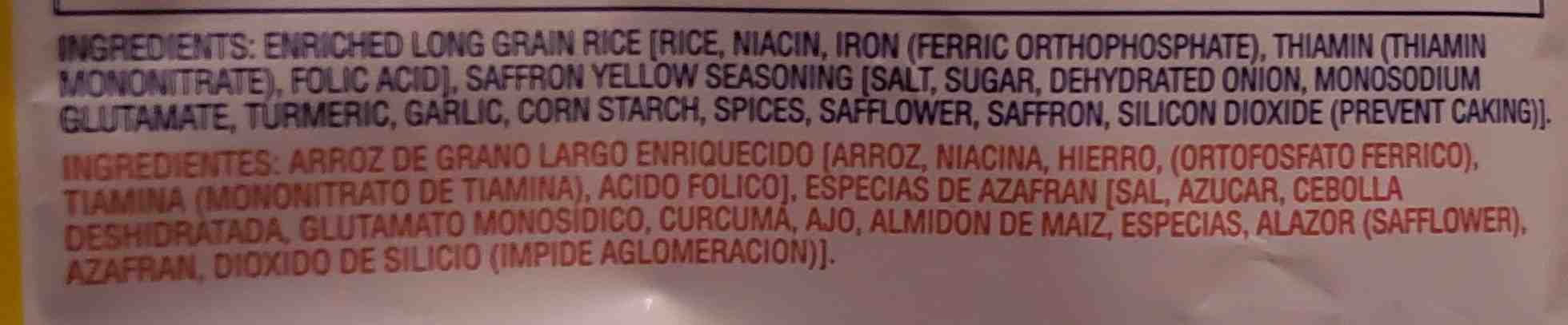 mahatma - Ingrediënten - en
