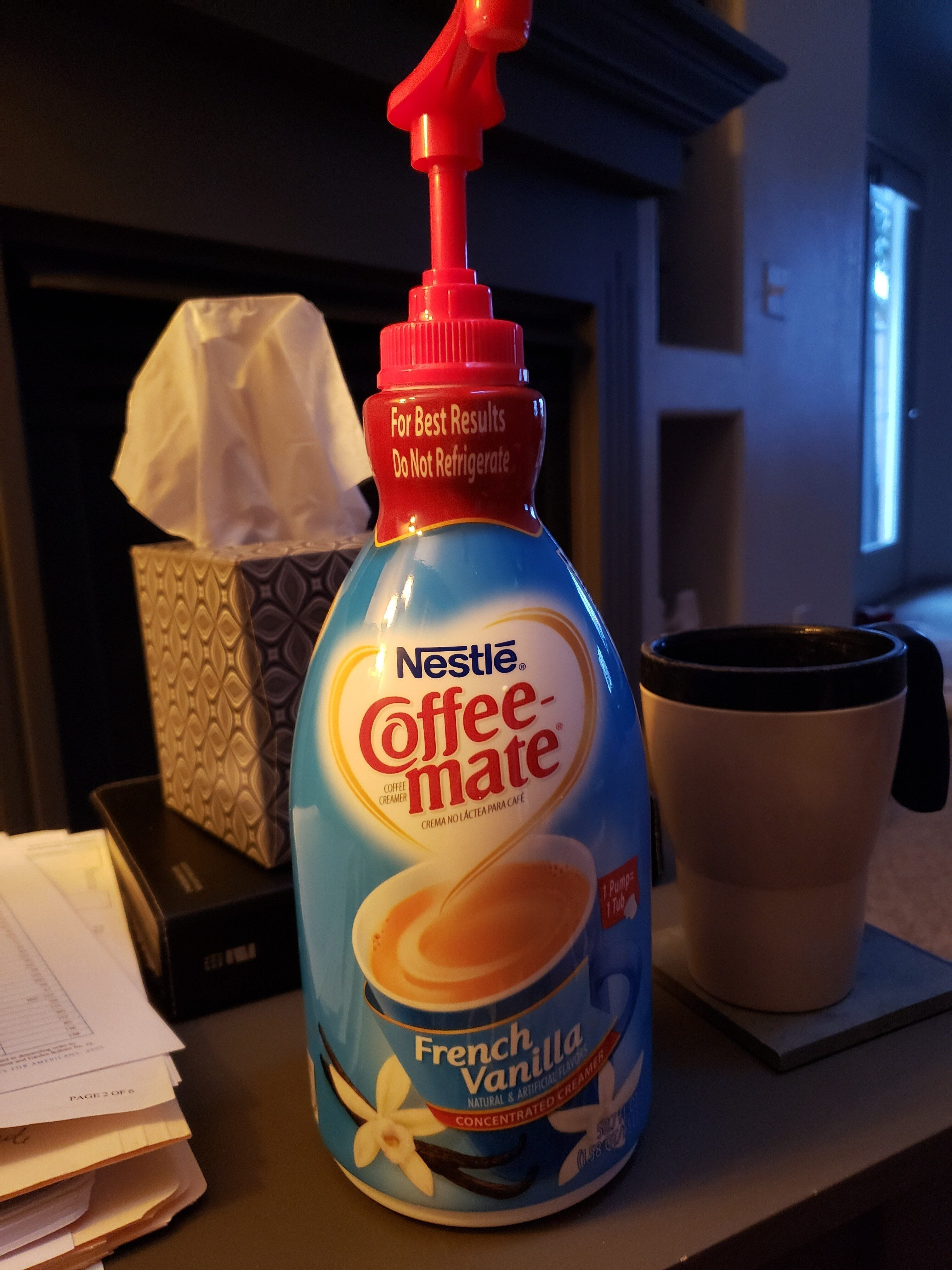 Nestle Coffee Mate French Vanilla concentrated creamer - Product