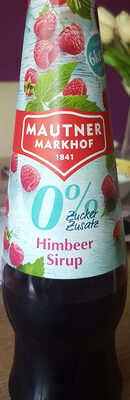 Himbeer Sirup - Product