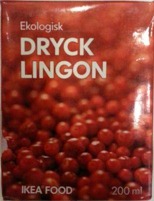 Dryck Lingon - Product