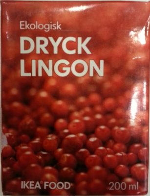 Dryck Lingon - Produit - fr