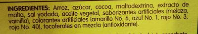 Chocokrispis - Ingredientes - en
