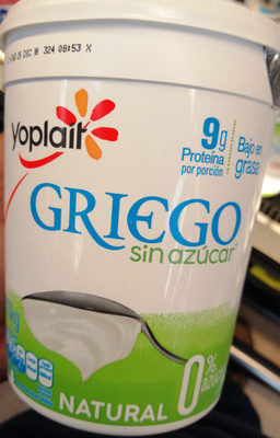 Yoghurt Griego Natural - Producto - fr