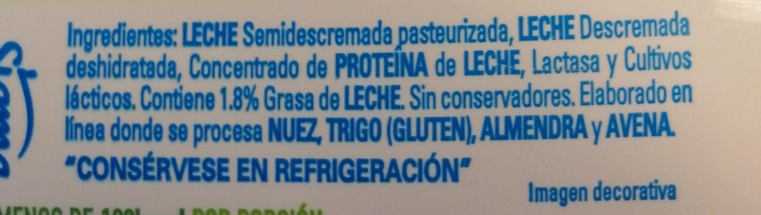 Yoghurt Griego Natural - Ingredientes - fr