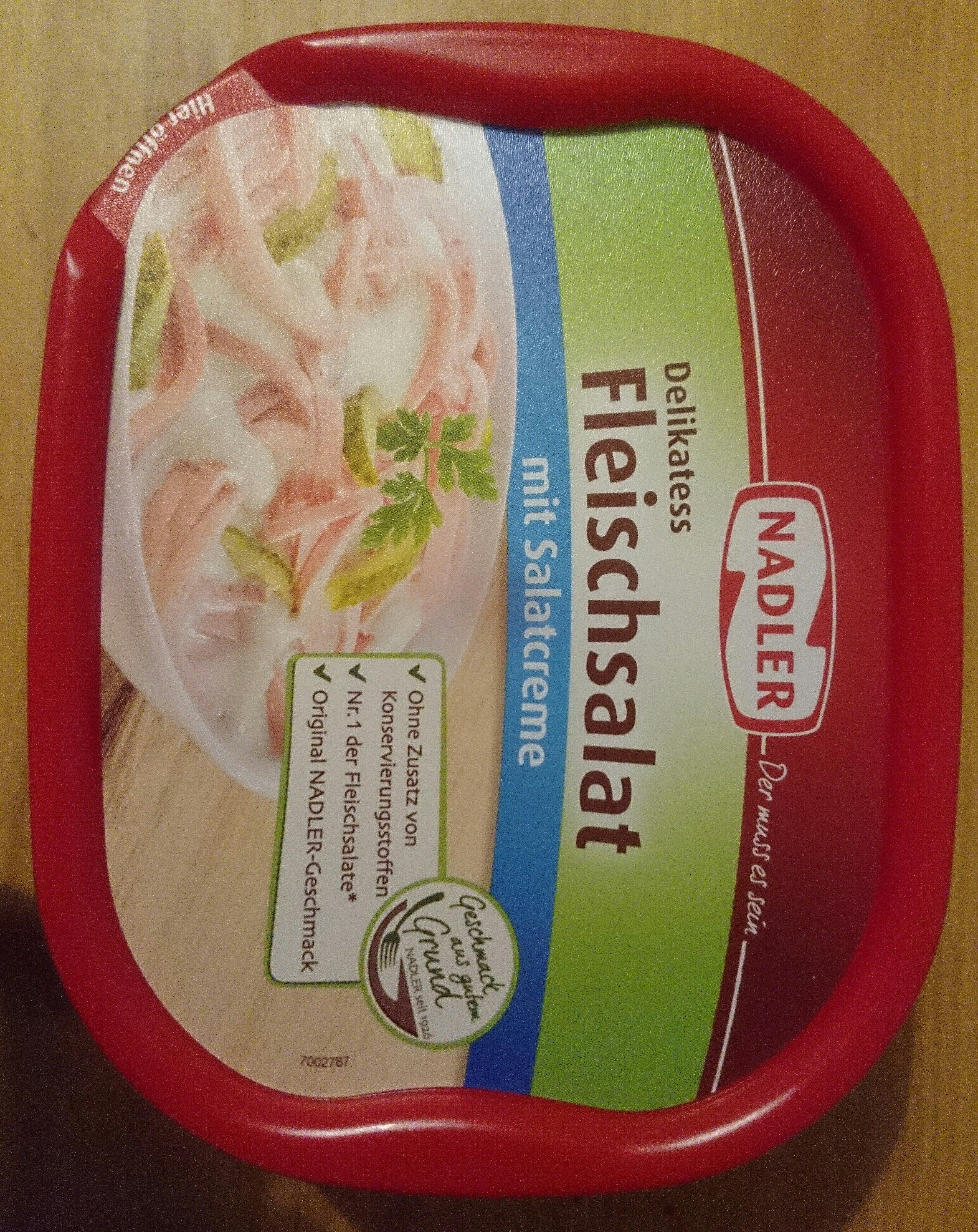 Delikatess Fleischsalat mit Salatcreme - Produit - de