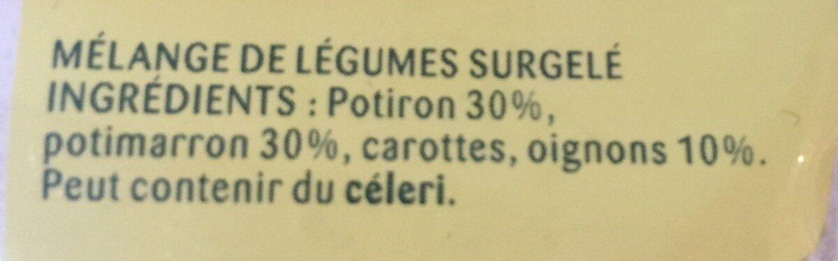 Légumes pour soupe - Ingrédients - fr
