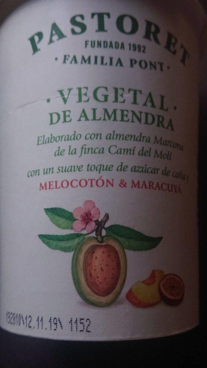 Vegetal de almendra melocotón & maracuyá - Producto - es