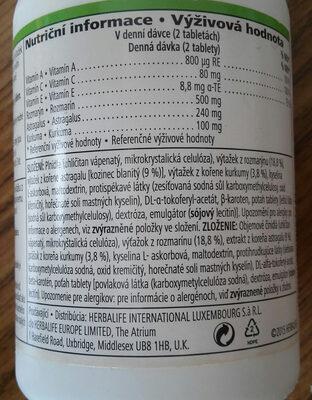 roseguard  vitamin a c e  rosmery - Ingredienti - cs
