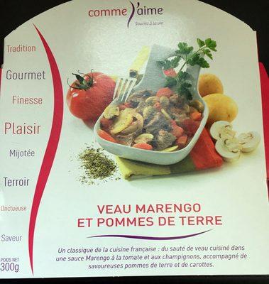 Veau Marengo et Pommes de Terre - Produit - fr