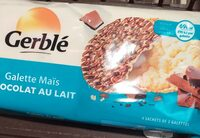 Galette maïs chocolat au lait - Produit - fr