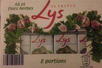 Ail et fines herbes 8 portions - Produit - fr