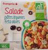 Salade pâtes légumes feta olives - Produkt