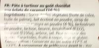 Chokladkrokant Bredbar - Ingrédients - fr