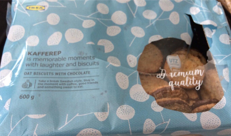 Biscuit Avoine et Chocolat - Product - fr