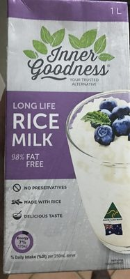 Inner goodness long life rice milk - Product