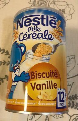 Biscuité vanille - Product