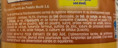 Biscuité vanille - Ingrediënten