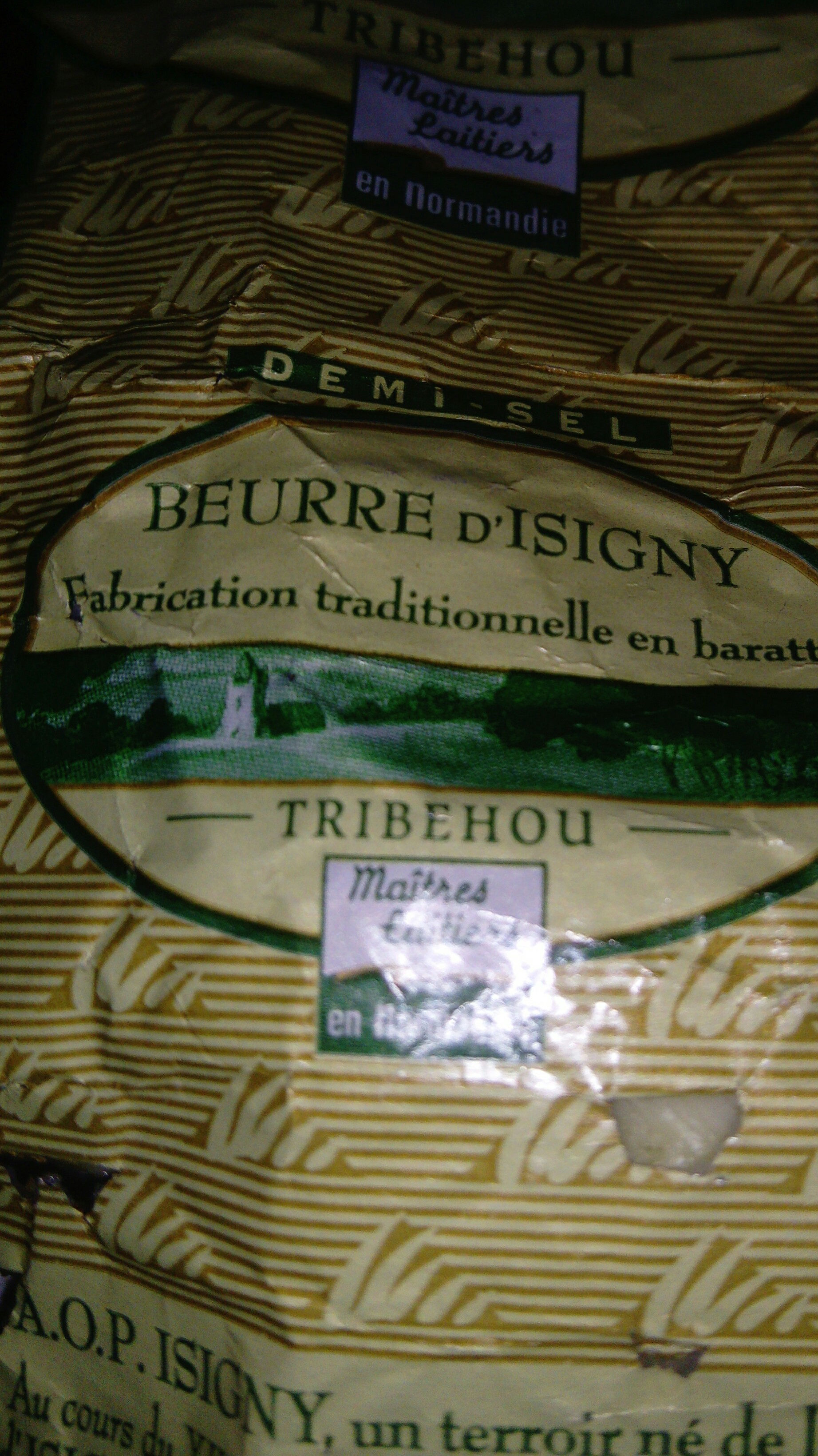 beurre d'isigny - Product - fr