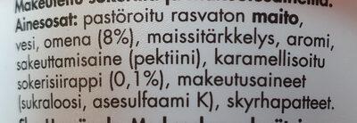 Skyr Uuniomena - Ingredients