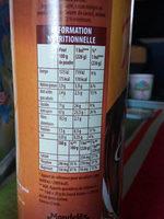 Poulain Grand Arôme - Informations nutritionnelles