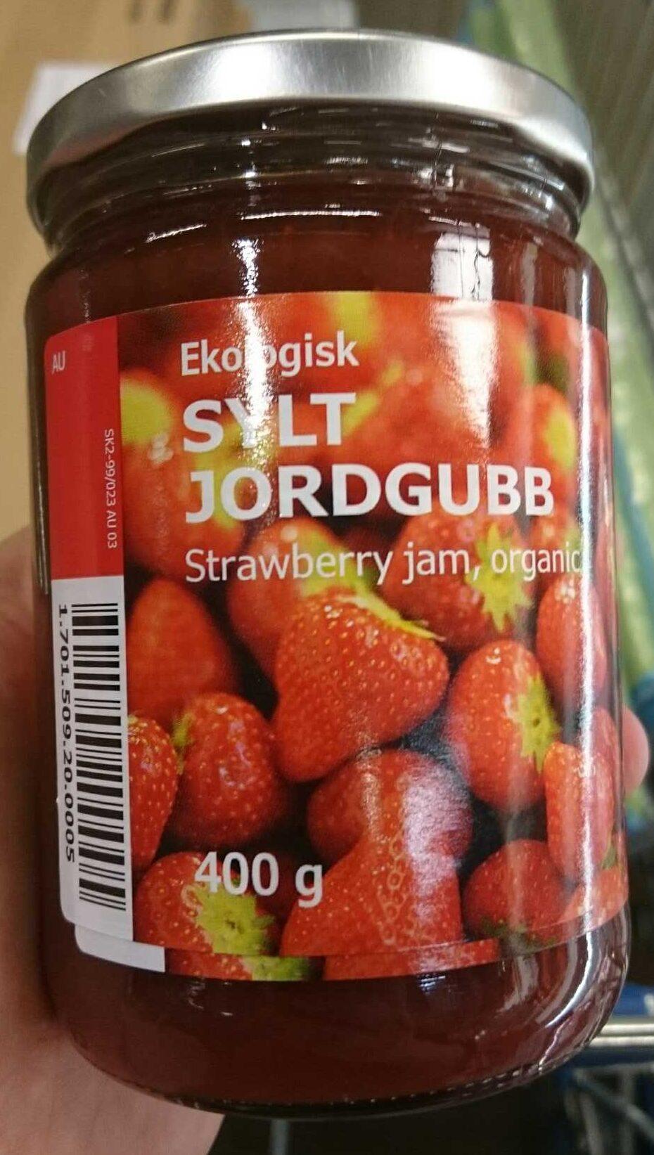 Ekologisk sylt jordgubb strawberry jam - Product - en
