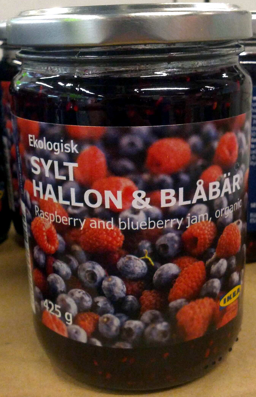 Ekologisk Sylt Hallon &  Blåbär - Produktas - en