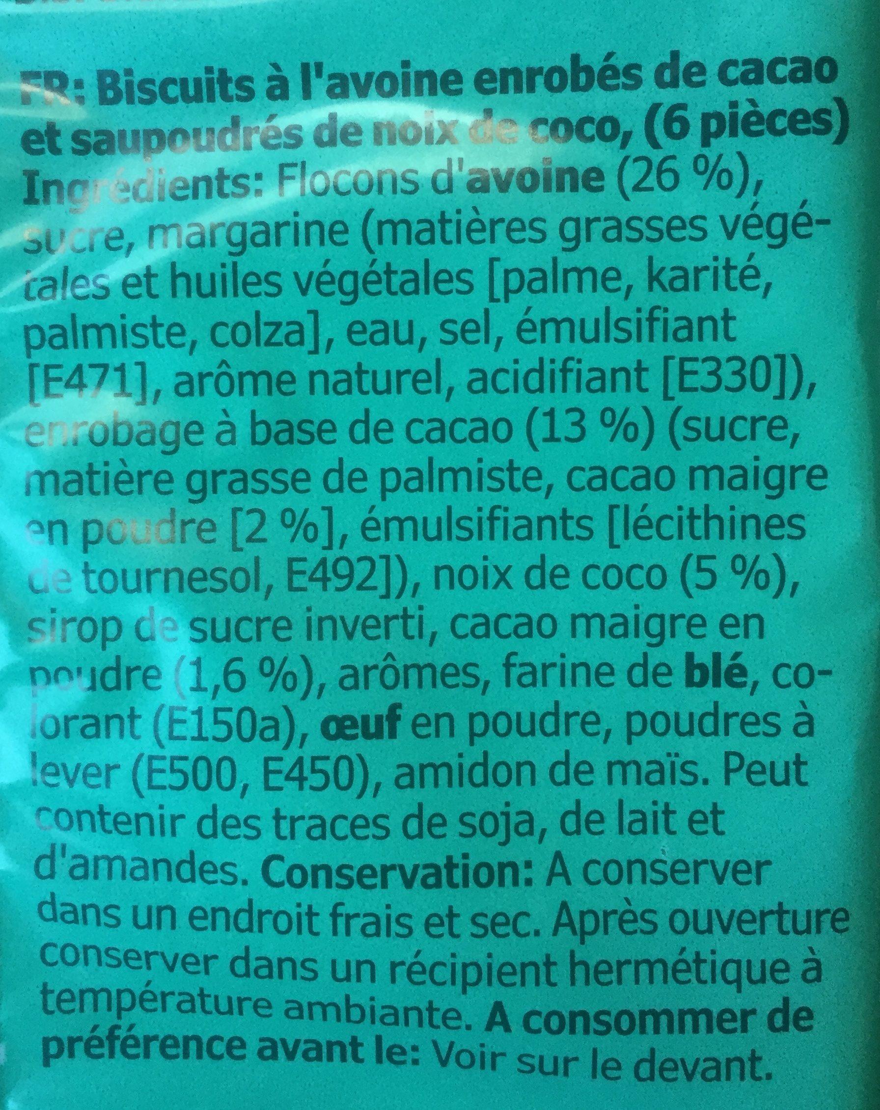 Kafferep - Ingrédients - fr
